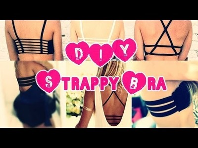 DIY: Top de Tiras (Strappy Bra) + costura fácil