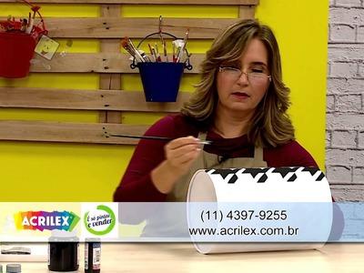 Ateliê na TV - Rede Brasil - 30.07.2015 - Claudia Bocault