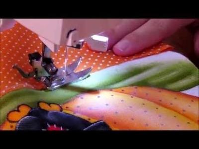 Como costurar barrinhas em panos  #outrasartes