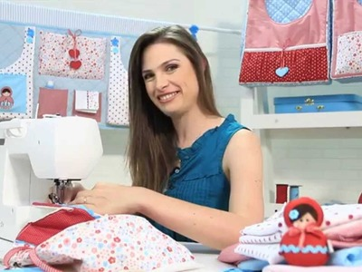 Curso online de Enxovais para bebês: bolsões porta-fraldas | eduK.com.br
