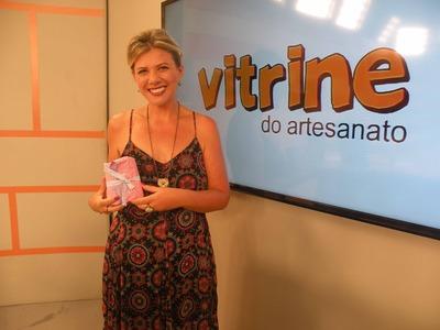 Kit de Manicure em Patchglue com Cláudia Ferreira   Vitrine do Artesanato na TV