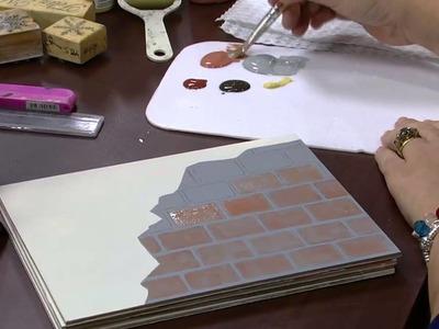 Mulher.com - 03.09.2015 - Pintura com imitação de tijolinho - Mara Fernandes PT1