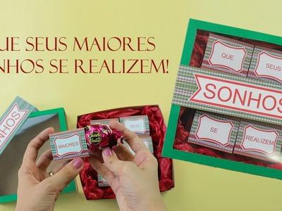 Presentinho para amigos e familiares no Natal - Caixinha de sonhos