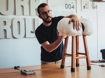 Tente Isso Em Casa: Aprenda a fazer um banco inspirado em um carneirinho