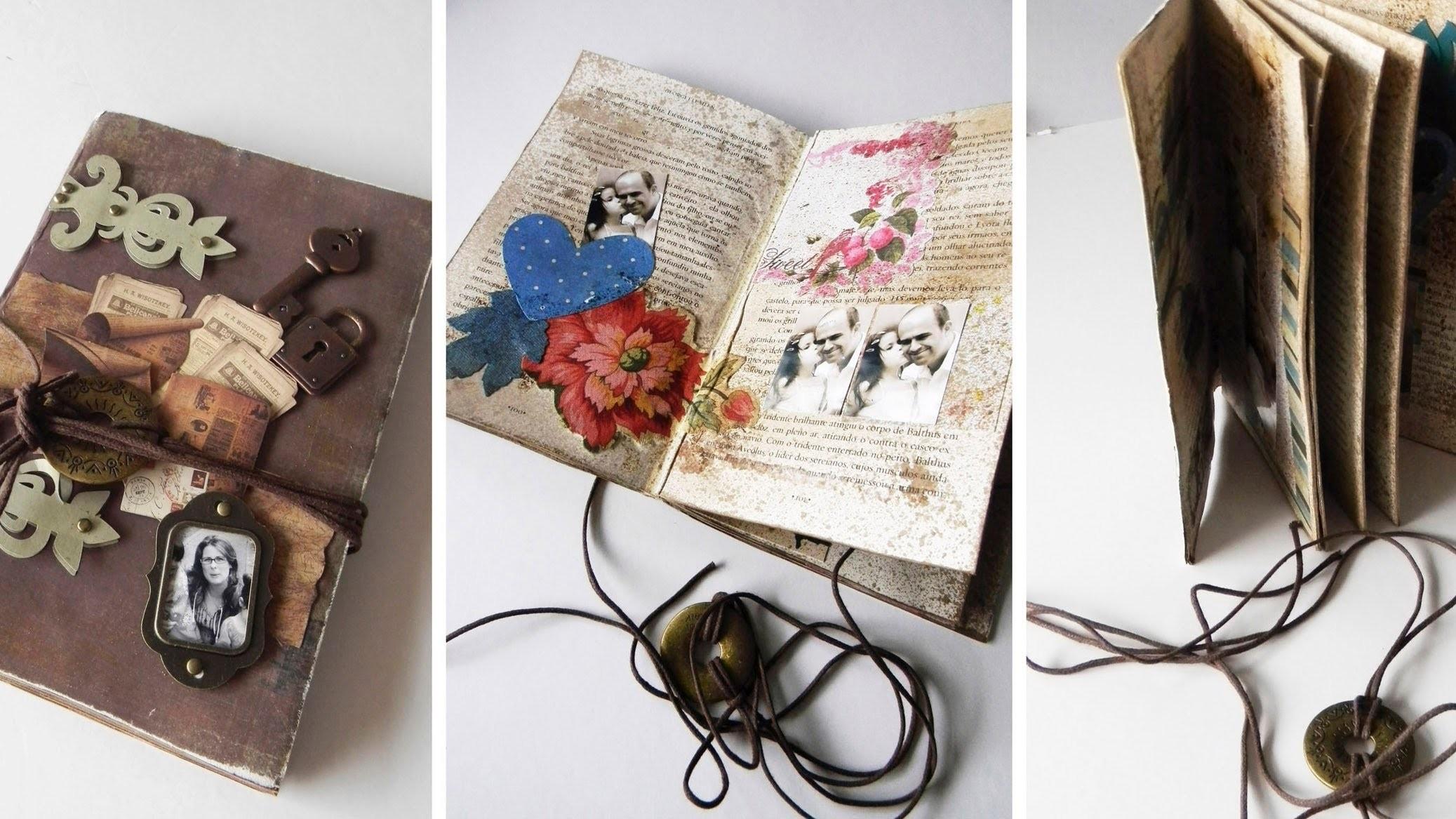 Você sabe o que é Altered Book? - EP26 - Flavia Terzi.TV