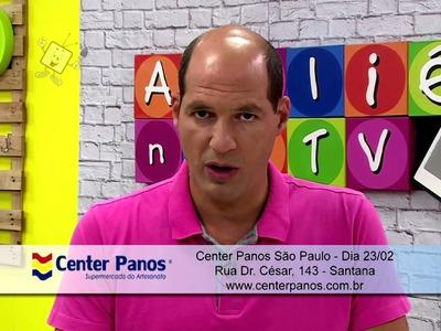 Ateliê na TV - Rede Brasil - 15.02.16 - Márcia Caires e Catiane Gobbi