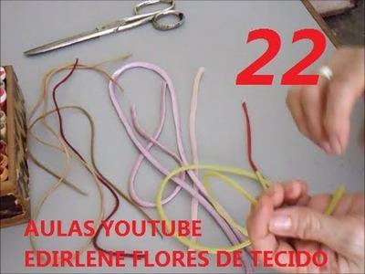AULA 22: ENSINANDO FAZER ROLOTÊS PARA ARRANJOS DE FLORES (atendendo pedidos)