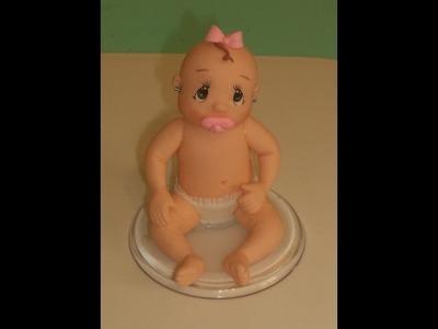 Bebê  -  Aula de Biscuit ( Parte 1)