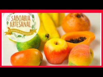 Como Fazer Sabonete Artesanal? Curso Sabonete Artesanal Frutas Tropicais.