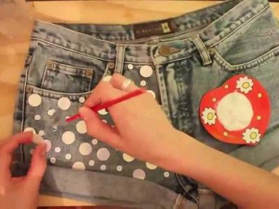 Como fazer shorts customizados