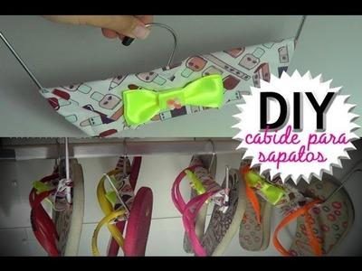 Faça Você Mesmo: Cabide para Sapatos | Dica de Organizador | DIY