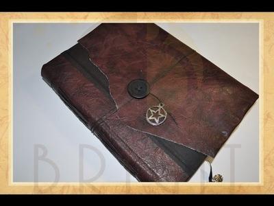 """Livros das Sombras """"Witch's Son"""" - Estúdio Brigit"""