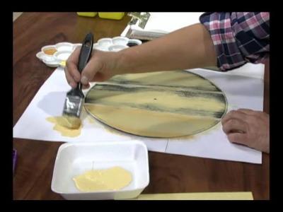Mulher.com 08.08.2012 Ane Maria Guimarães - Pintura Reciclagem em Vinil 01
