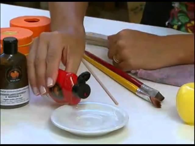 Mulher.com 23.11.2011 - Sabonete de maçã vermelha