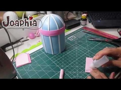 PARTE 1 - PAP GAIOLA DECORATIVA EM E.V.A. 3D