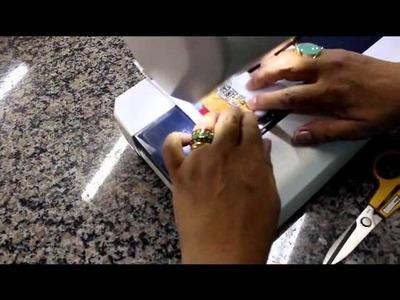 Patchwork Sem Segredos Aula 05: Montagem do Bloco da Bolsa