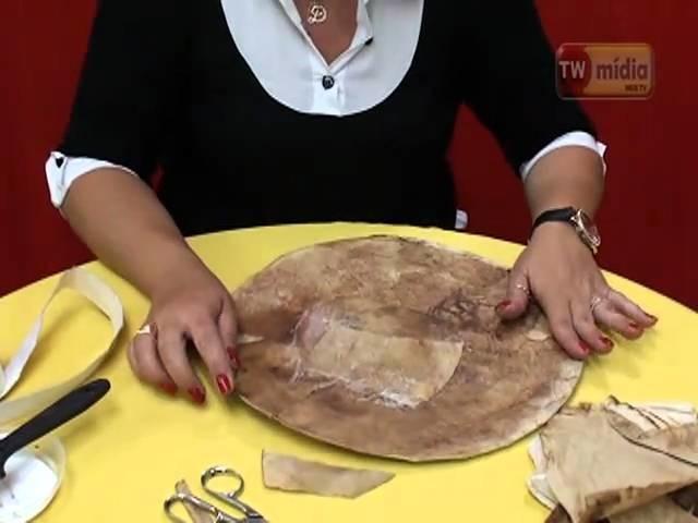 PROGRAMA ECONET PORTA REVISTA COM EMBALAGEM DE PIZZA