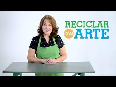 Que tal reciclar com arte?