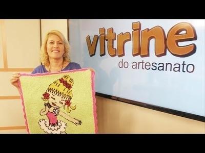 Tapete bailarina em agulha mágica com Tânia Silva | Vitrine do Artesanato na TV