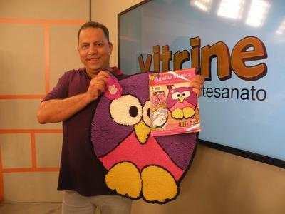 Tapete Coruja com Luciano Albano | Vitrine do Artesanato na TV