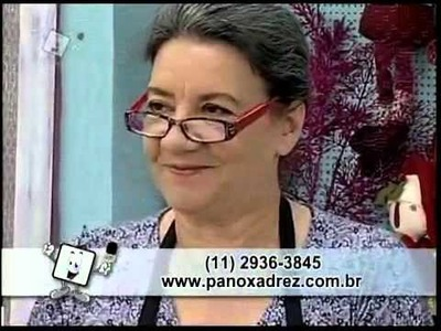 Tia Lili na TV: patchwork fácil com dicas preciosas