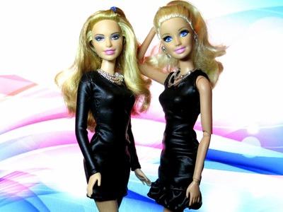 #5 Como Fazer Vestido Tubinho para Barbie (com ou sem Manga)