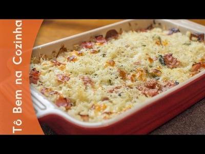 ARROZ DE FORNO FÁCIL - Receita de arroz de forno (Episódio #131)