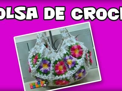 Bolsa de Crochê - Cristina Luriko