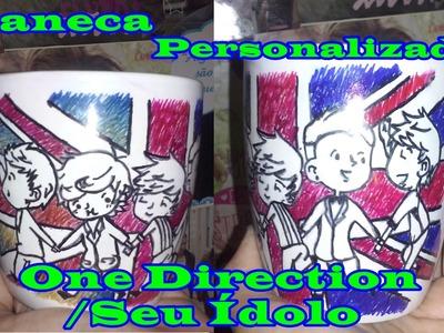 DIY: Caneca Personalizada do One Direction.Seu Ídolo