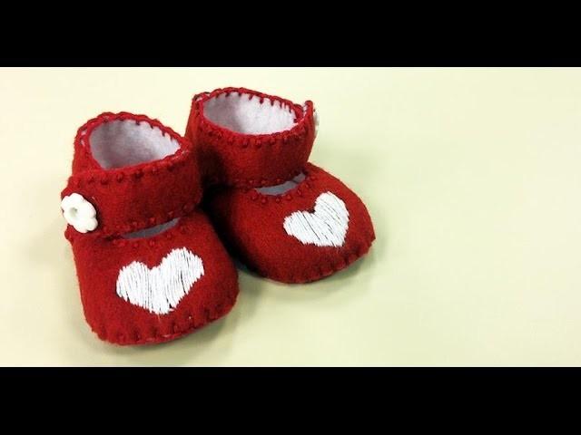 Programa Arte Brasil - 28.05.2015 - Letícia Konishi - Sapatinho Vermelho em Feltro