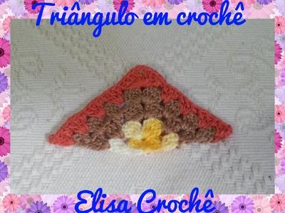 TRIÂNGULO EM CROCHÊ # Elisa Crochê