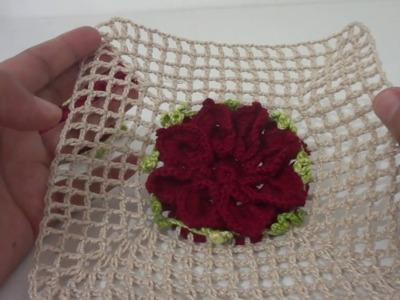 CAMINHO DE MESA INFINITO 1.3 - Como fazer a flor