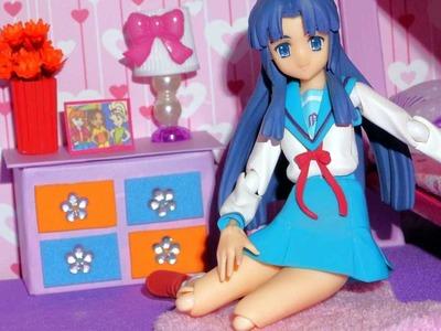 Como fazer abajur para mini boneca (Polly, Princesas, Lalaloopsy, etc)