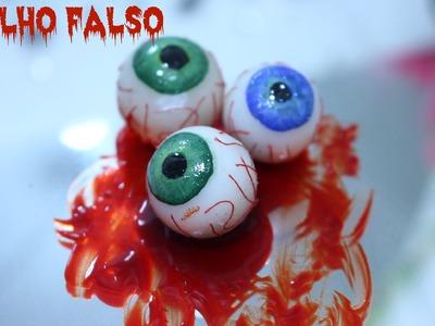 Como Fazer Olho Falso - Tutorial Maquiagem Artística