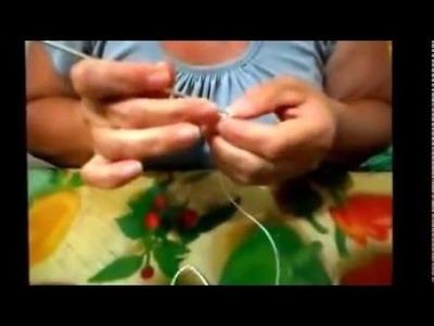 Como fazer um jogo de toalinhas com cinco peças de crochê
