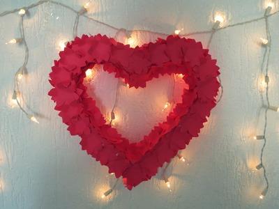 Decoração para Noivado | Coração de Isopor