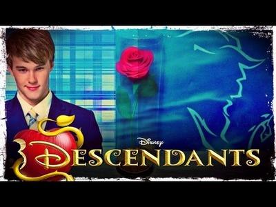Disney Descendentes - Tutorial Rosa Mística A Bela e a fera!