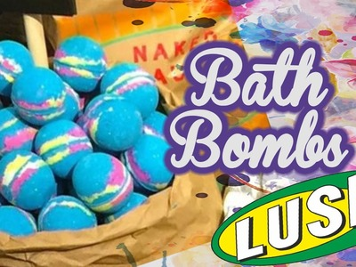 DIY - Bath Bombs da Lush