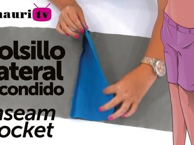 DIY - Bolsillo Lateral Escondido ( Hidden side pocket )