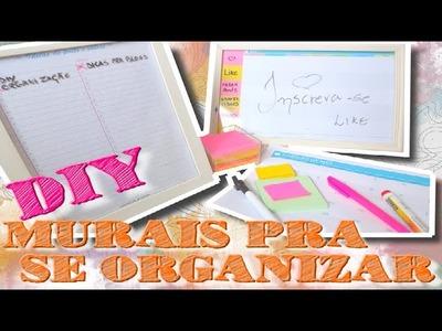 DIY MURAIS DE ORGANIZAÇÃO.PLANNERS