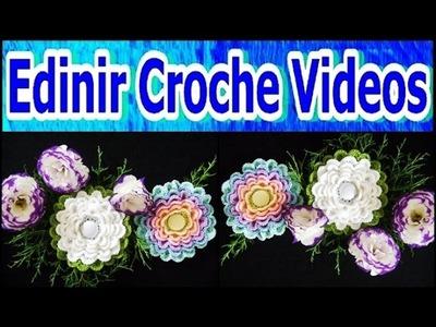 FLORES EM CROCHE FLOR ACANTHO - 062