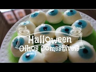 HALLOWEEN - Receita de Olhos Comestíveis | Amélia Moderna