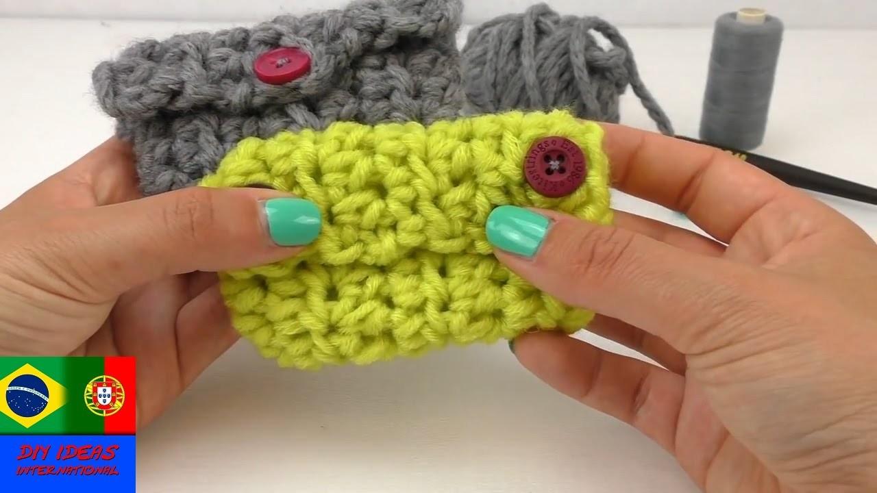 Pequena Bolsa de lã – Super Fácil e rápida