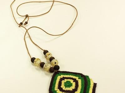 Programa Arte Brasil - 07.07.2015 - Susana Santos - Colar em Crochê