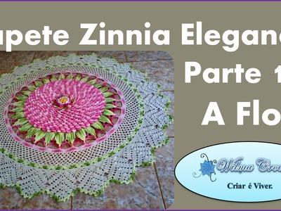 Tapete de Crochê Zinnia Elegance - Parte 1.5