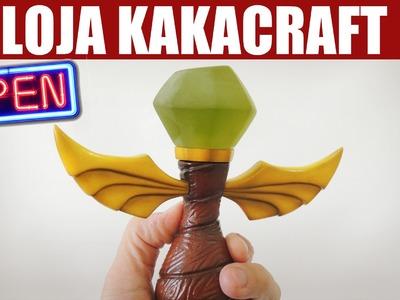 Vlog: Loja do Kakacraft ABERTA!