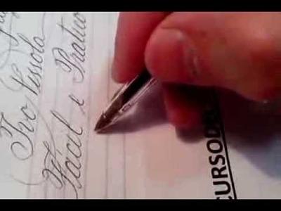 Curso de Caligrafia Profissional e Artística ((( Online)))