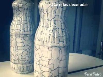 Minhas garrafas Decoradas