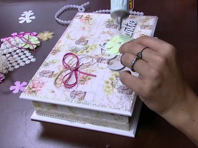 Mulher.com - 30.10.2015 - Caixa porta jóias - Marisa Magalhães  PT2