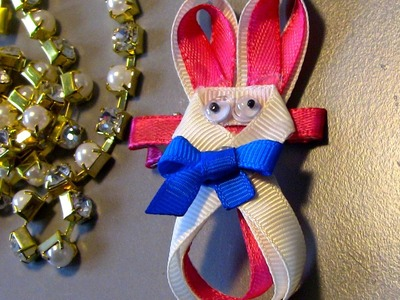 Coelho da Pascoa para cabelo Passo a Passo -Easter Bunny